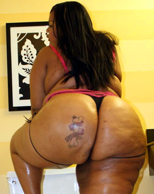 Big phat black booty consider
