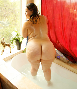 Fattest Oiled Ass Big Booty PAWG