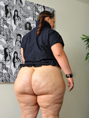 Big Fat White BBW Booty