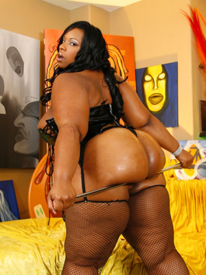 Massive Ebony Big Booty SSBBW Teen
